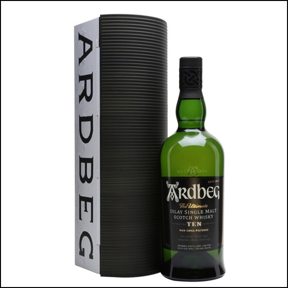 ARDBEG 10 YEAR OLD Warehouse Pack 70cl 46%