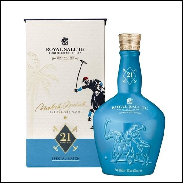 Royal Salute 21 year Polo Edition 3 40% 0.7L