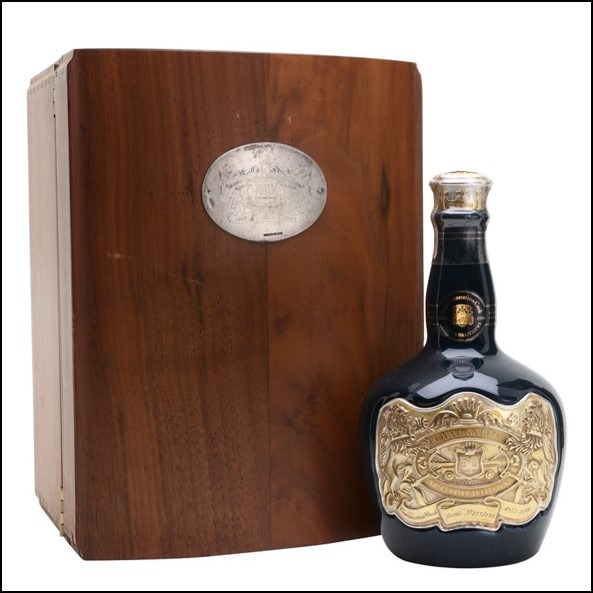 ROYAL SALUTE 50 YEAR OLD Coronation Cask 70cl 40%  皇家禮炮50年