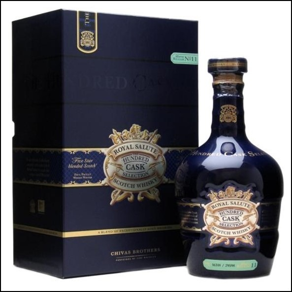 Royal salute the hundred cask selection 皇家禮砲-100桶精選