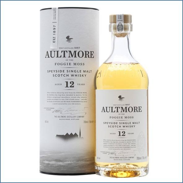 AULTMORE 12 YEAR OLD 70cl 46%