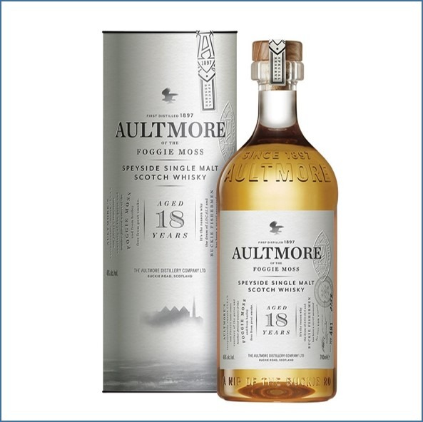AULTMORE 18 YEAR OLD 70cl 46%
