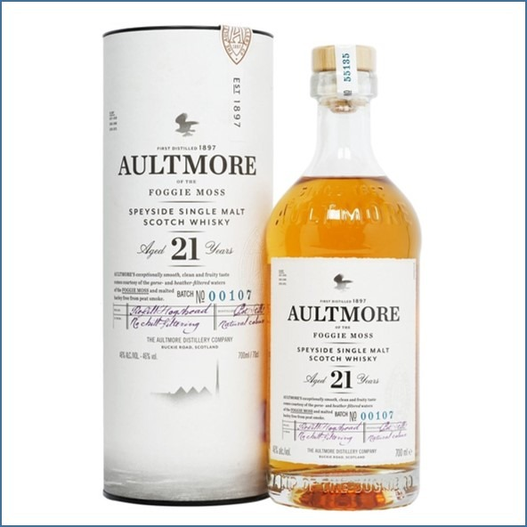 AULTMORE 21 YEAR OLD 70cl 46%