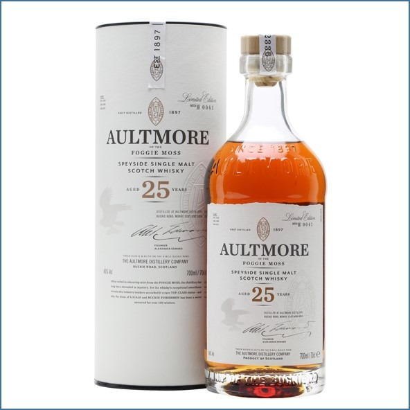 AULTMORE 25 YEAR OLD 70cl 46%