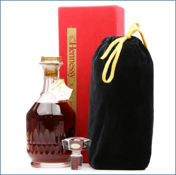 Hennessy X.O Cognac - Baccarat Crystal Decanter