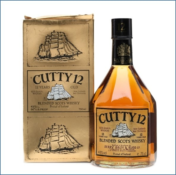 Cutty Sark 12 Years Old 75cl 43%