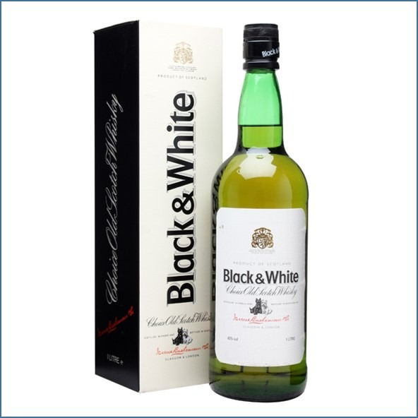 Black & White Blended Whisky 70cl 43%