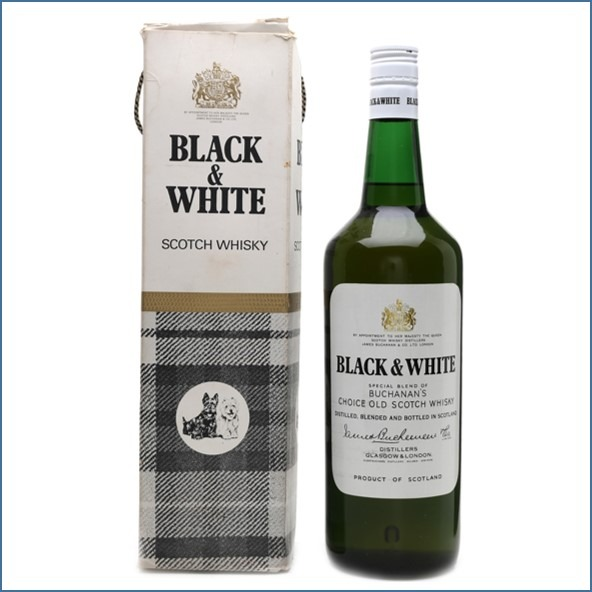 Black & White Bottled 1970s - 1980s 70cl 43%