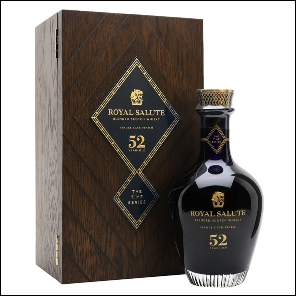 Royal Salute 52 Year Old Time Series 70cl 44.8%