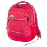 HIGH SIERRA美國戶外運動用品Glitch Backpack 可收納17吋筆電後背包新秀麗Samsonite副牌【H04-QU045】亮紅【禾雅】