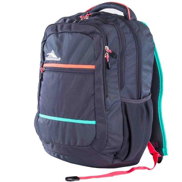 HIGH SIERRA美國戶外運動用品Glitch Backpack 可收納17吋筆電後背包新秀麗Samsonite副牌【H04-QS045】鐵灰限定版【禾雅】