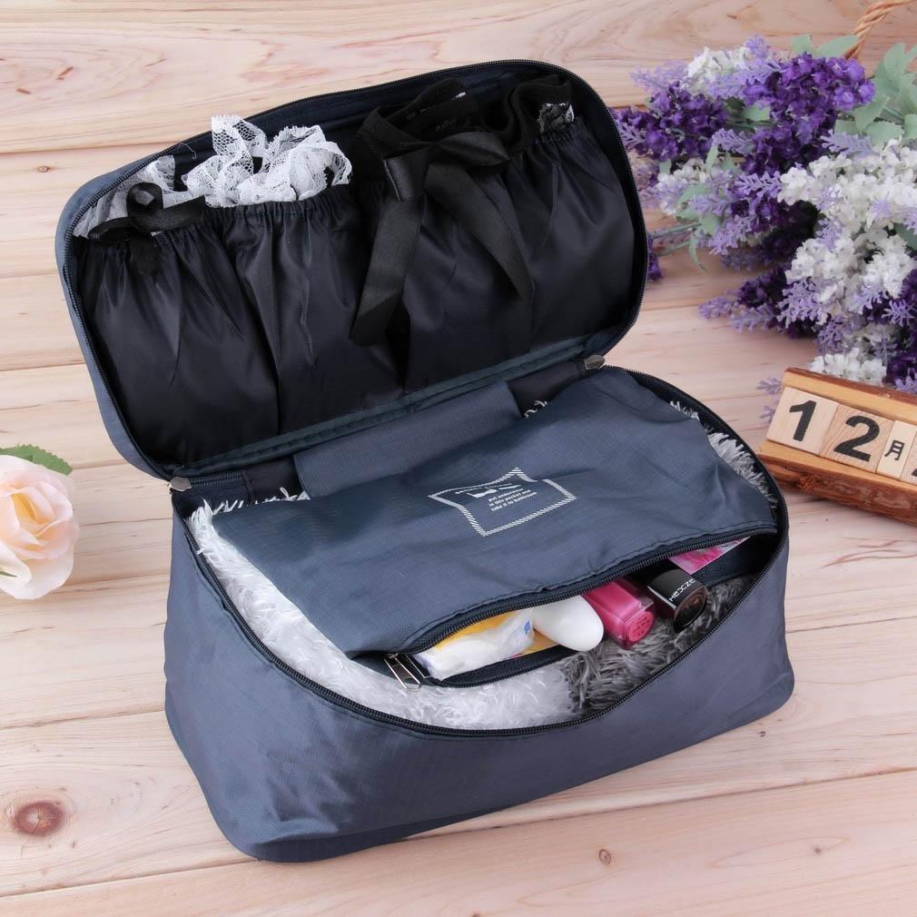 小飛機內衣包 收納包 包包 化妝包 內衣褲 胸罩 旅行 盥洗包