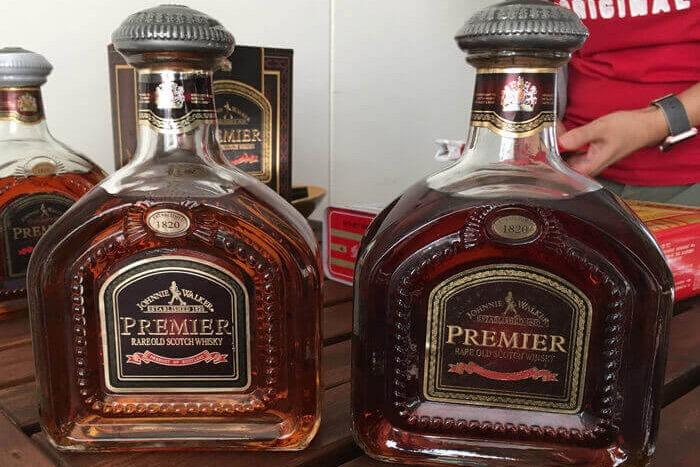 約翰走路威士忌-尊爵收購辨識