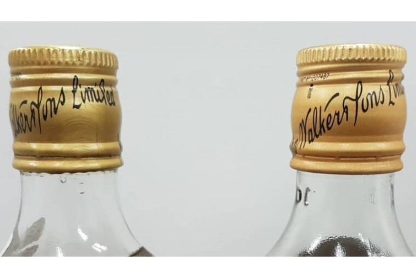 70年代約翰走路金頭黑牌洋酒收購辨識