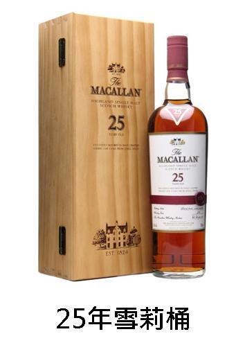 【威士忌】麥卡倫25年(腰帶版)