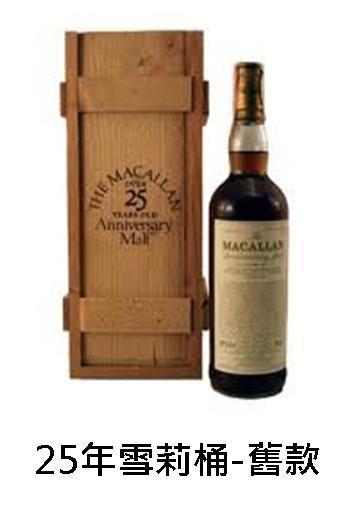 【威士忌】麥卡倫25年(原木盒)