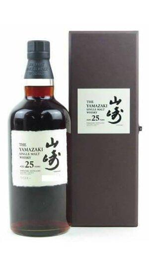 日本威士忌 山崎 25年 老酒收購
