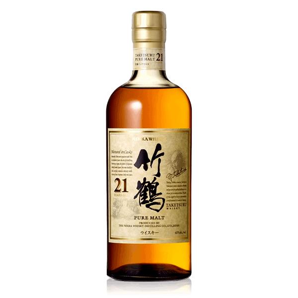 日本威士忌 竹鶴 21年  老酒收購