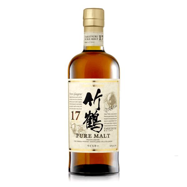 日本威士忌 竹鶴 17年  老酒收購