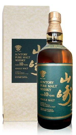 日本威士忌 山崎10年 金花版綠標 老酒收購