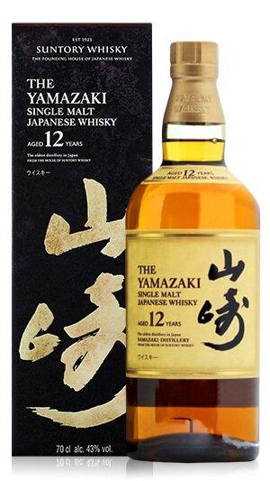 日本威士忌 山崎12年 老酒收購