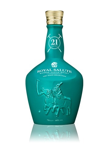【威士忌】皇家禮炮 馬球版第一版 藍玉髓