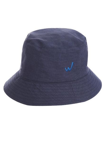 防潑水雙面短眉漁夫帽 - 中性