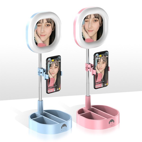 美顏補光化妝鏡(方形)