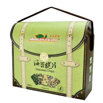 美加摩根-海苔脆片手提禮盒 35gX8包入(每款各2包)