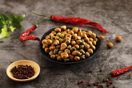 美加摩根-川味麻辣翠豌豆-150g