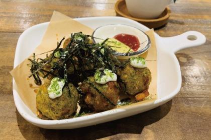 【台北素食餐廳】有好吃的素食章魚燒與三明治唷!