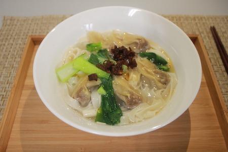 【素食料理教學】素食餛飩麵