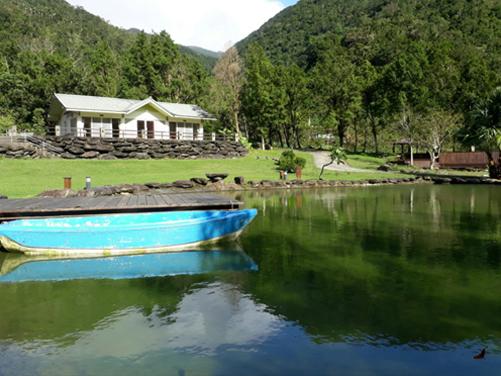 園內划船、戲水