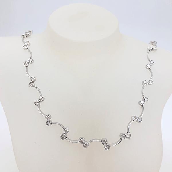 鑽石三件組—項鍊