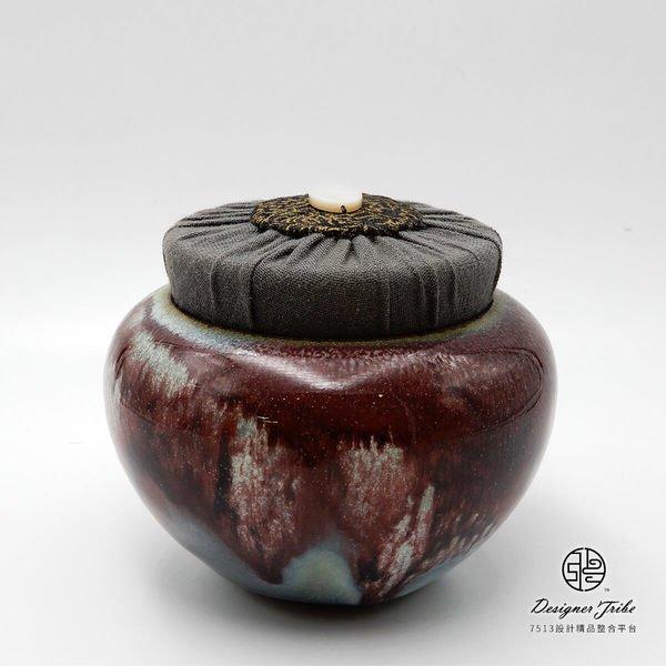 江玗-流釉小茶罐