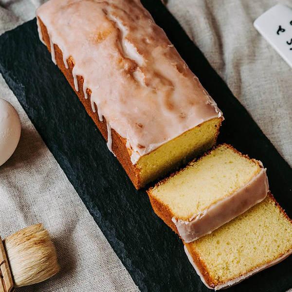【日食生活】檸檬糖霜磅蛋糕 (長條)