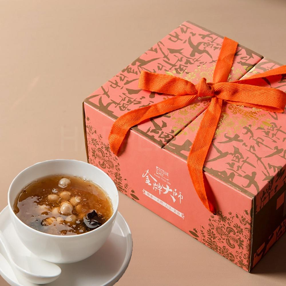金牌大師-冰糖紅棗銀耳湯40包(免運)