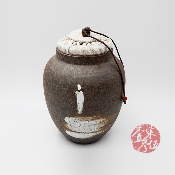 老岩泥禪風茶罐