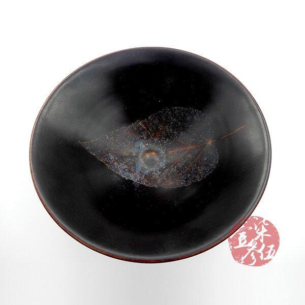 南宋 木葉紋吉州窯