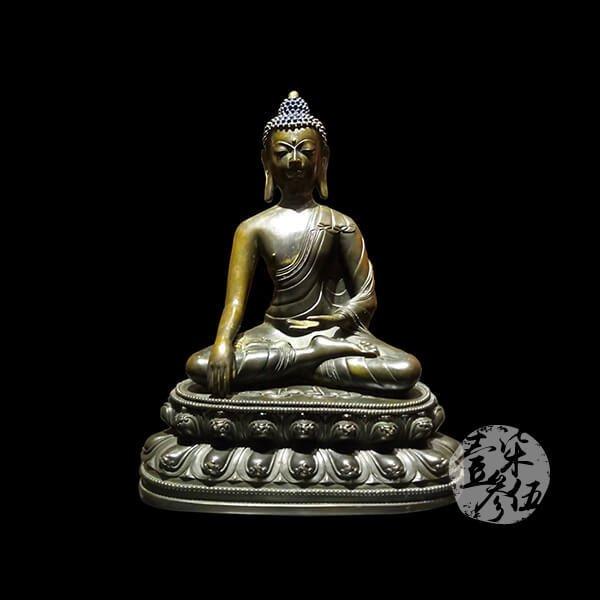 16世紀 銅雕釋迦佛祖像