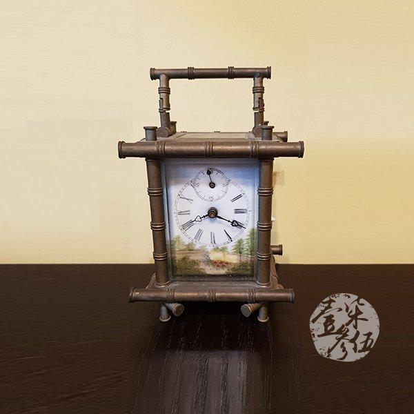 古董機械座鐘