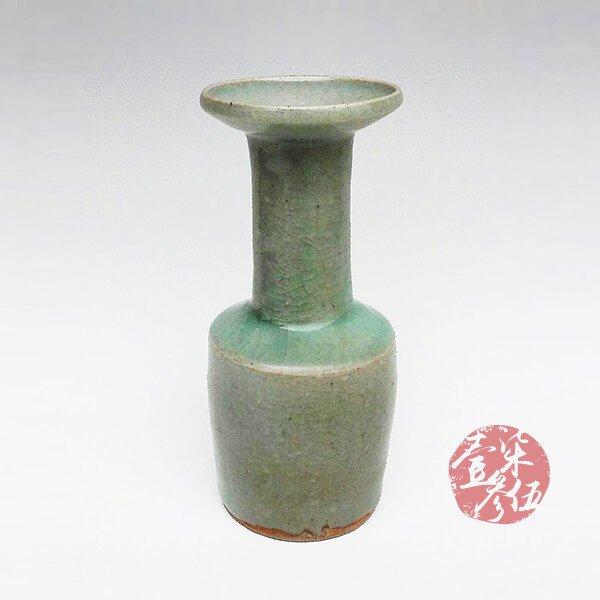 宋朝 龍泉窯紙搥瓶