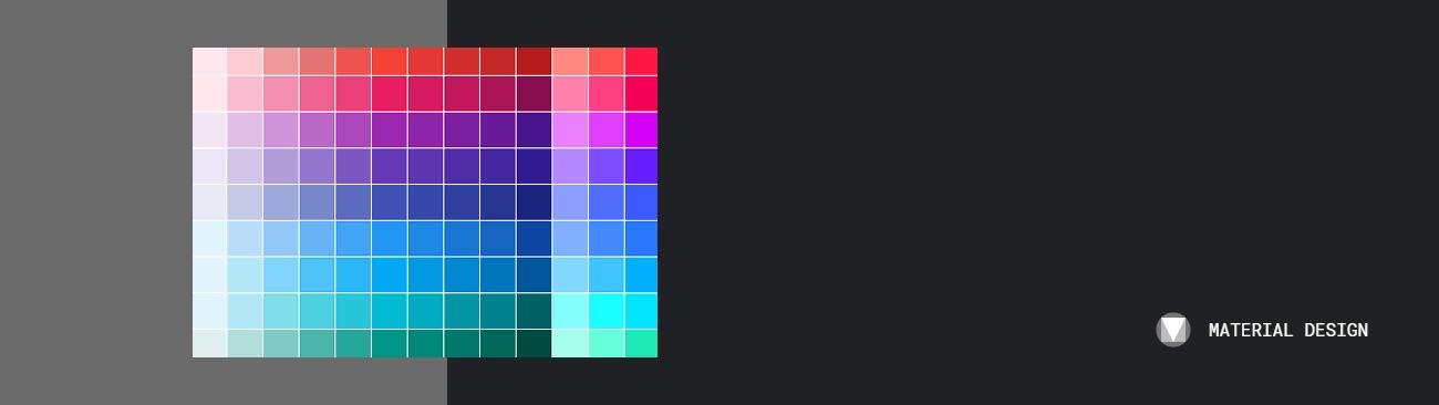 Material Design-顏色挑選與應用