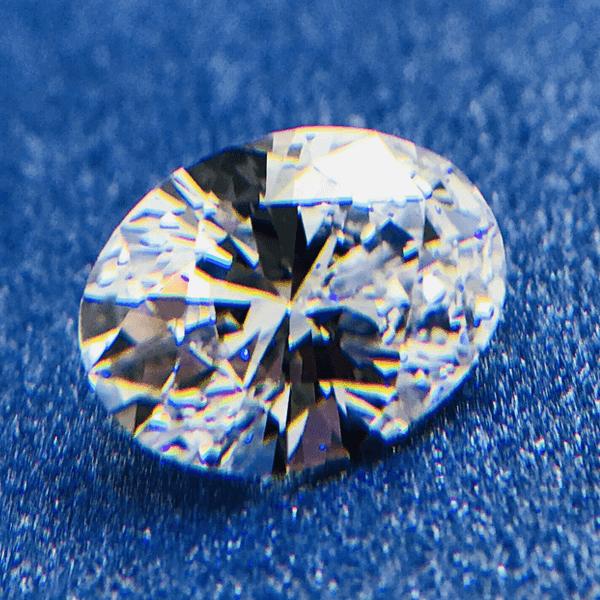 GIA 1.05克拉 鑽石 橢圓形車工