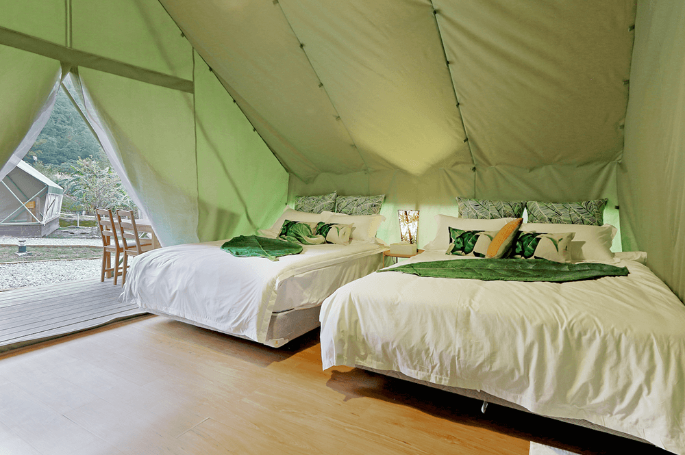 凱秝家豪華帳篷設計
