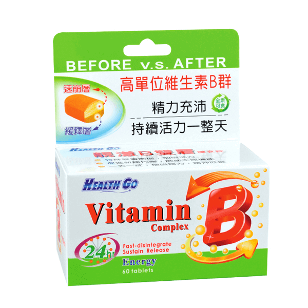 生達 高單位B群 Health Go 靚漾B雙層錠 60錠