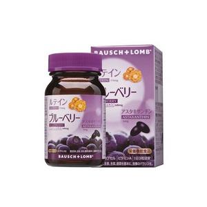 BAUSCH+LOMB 博士倫 睛綻野藍莓軟膠囊 90粒裝 葉黃素