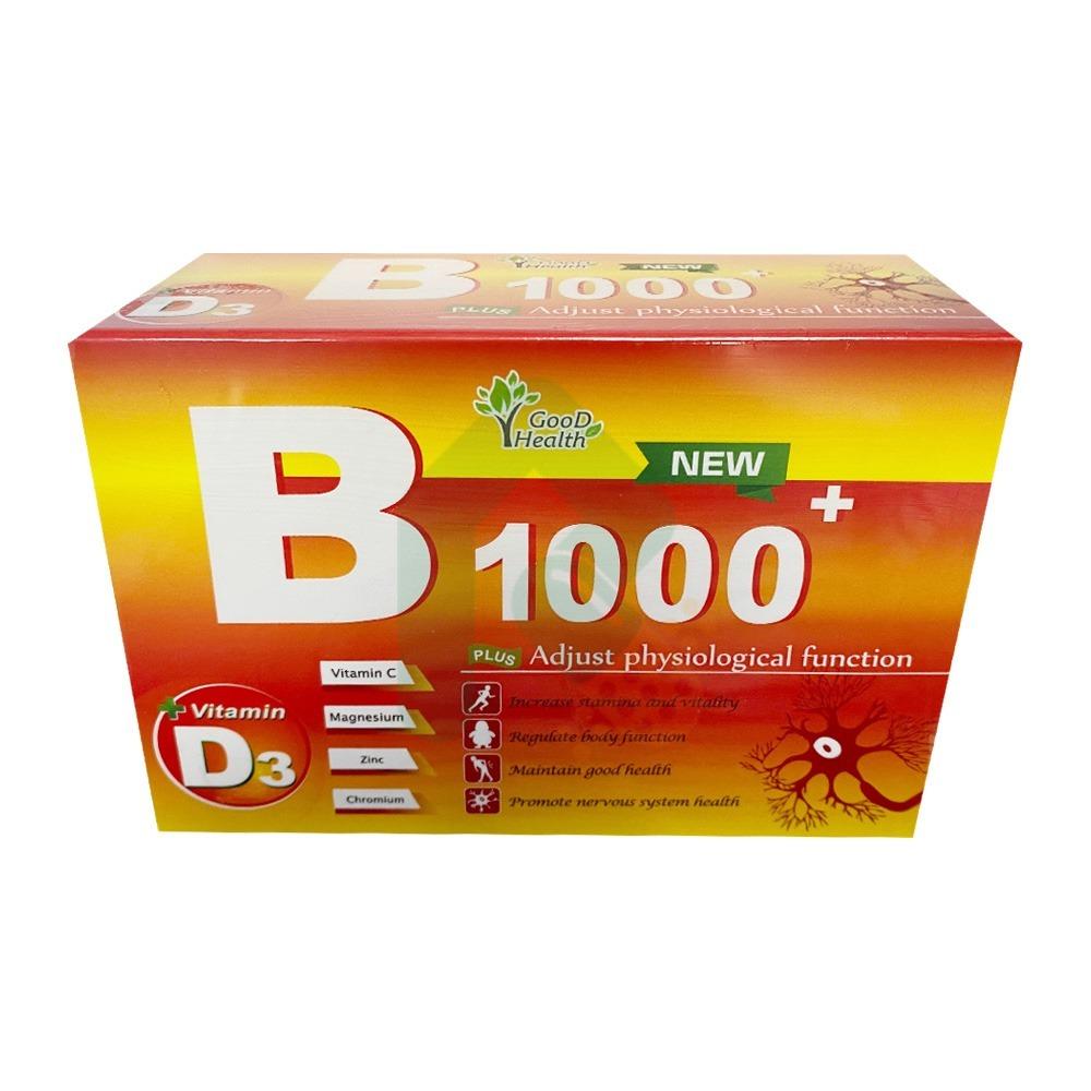 活力B1000+ 高單位綜合B群 60顆