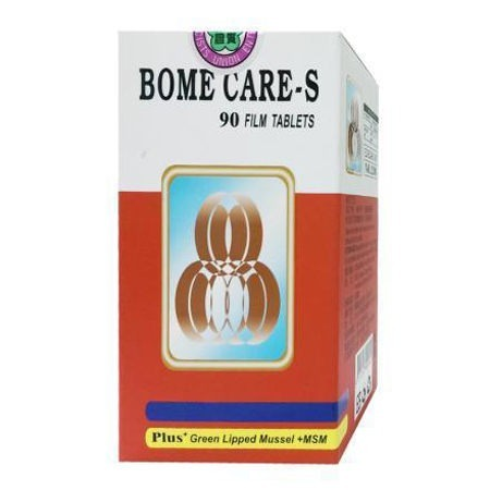 藥聯 BOME CARE-S 健固力-s 膜衣錠 90錠 (骨關節保養)