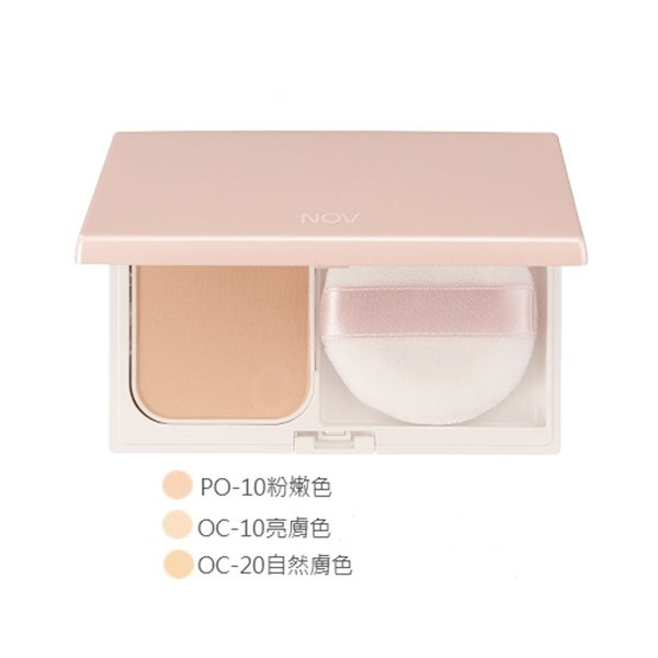 NOV 娜芙 防曬粉餅SPF30.PA+++ 12g OC-10亮膚色